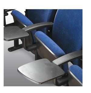 Apoio da cadeira de auditório