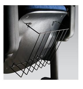 suporte parte traseira da cadeira de auditório