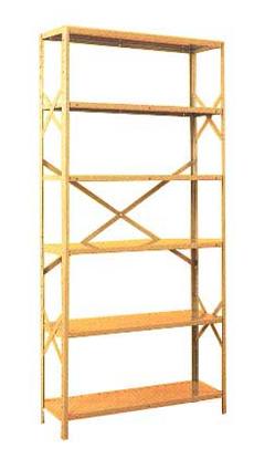 Estante para Indústria Pesada dourada