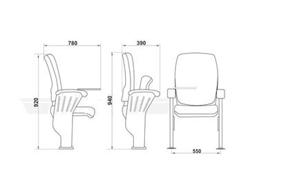 Esquema cadeiras linha Lorian